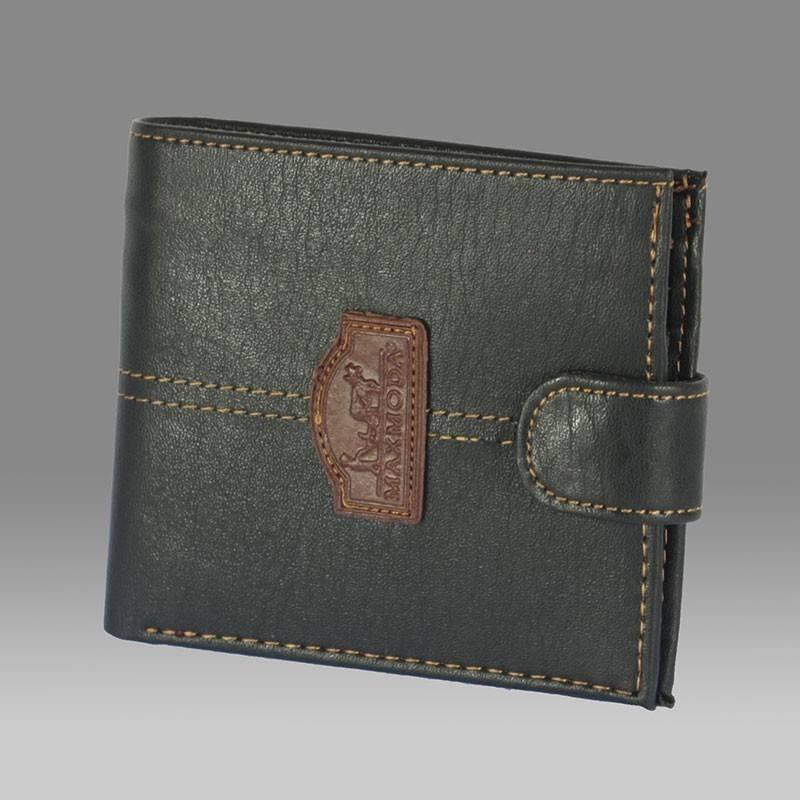 53230c0597 Maxmoda fekete műbőr férfi pénztárca #200