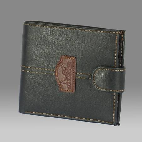 Maxmoda fekete műbőr férfi pénztárca  200 5cbc05776f