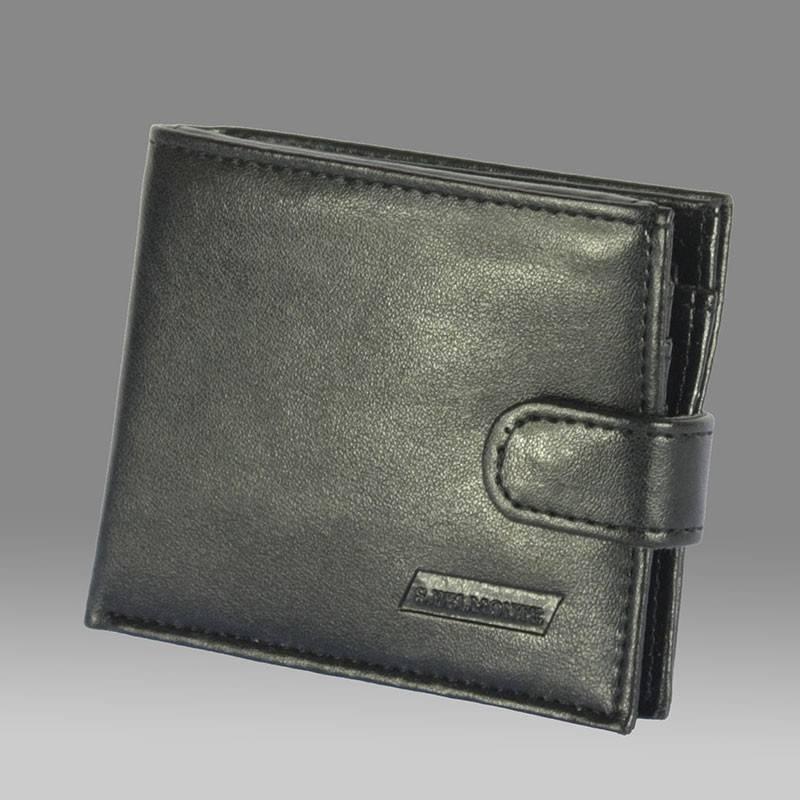 S.Belmonte fekete műbőr férfi pénztárca  201 242295ede0