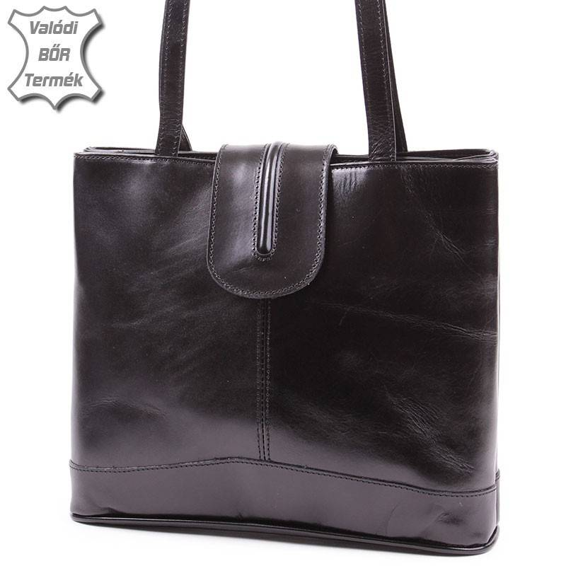 Fekete olasz bőr női táska  2190 1a3e661c0d