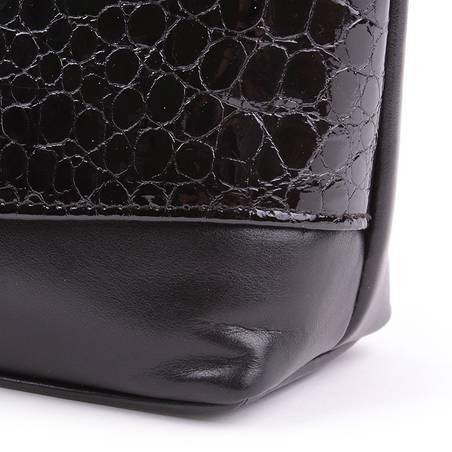 Fekete női bőr táska #2369