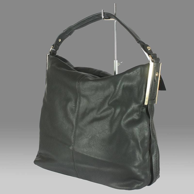 4d4ac1a338 Nagy méretű divatos fekete női táska #247