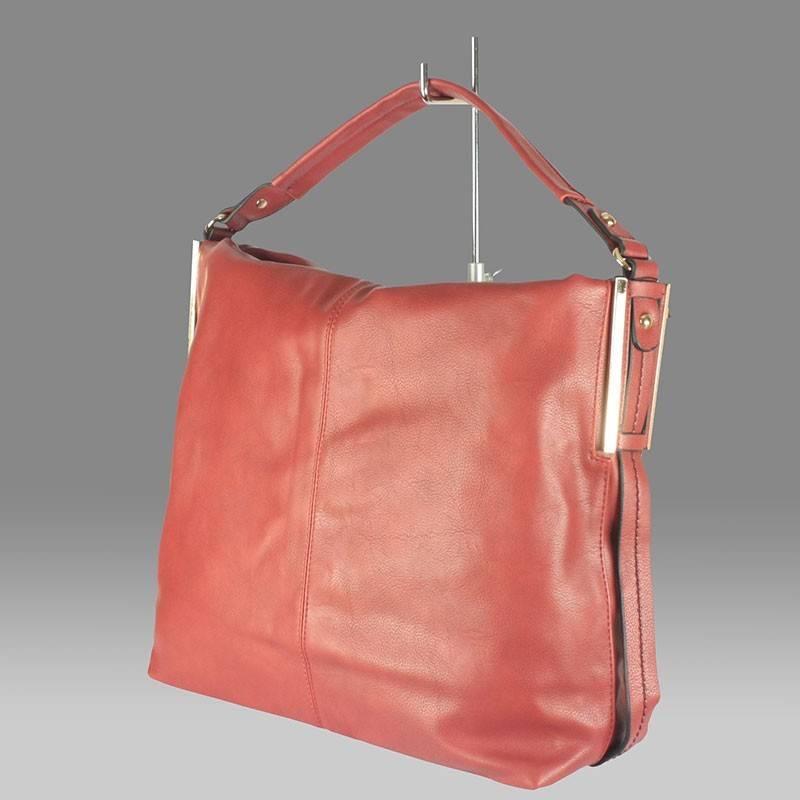 6c1e2fcfcb Nagy méretű divatos piros női táska #248