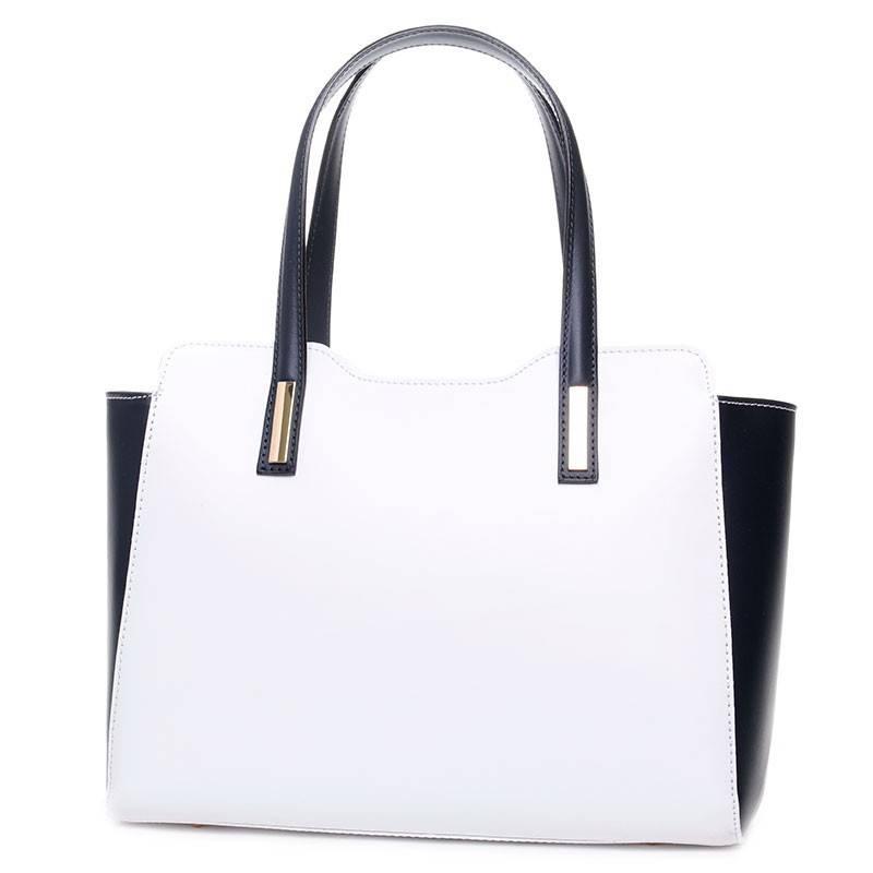 Fehér-kék olasz bőr női táska  2497 d39508cf4d