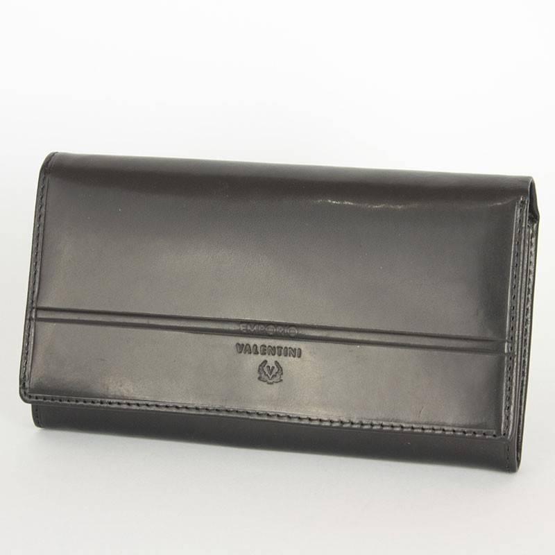 Emporio Valentini fekete bőr pénztárca