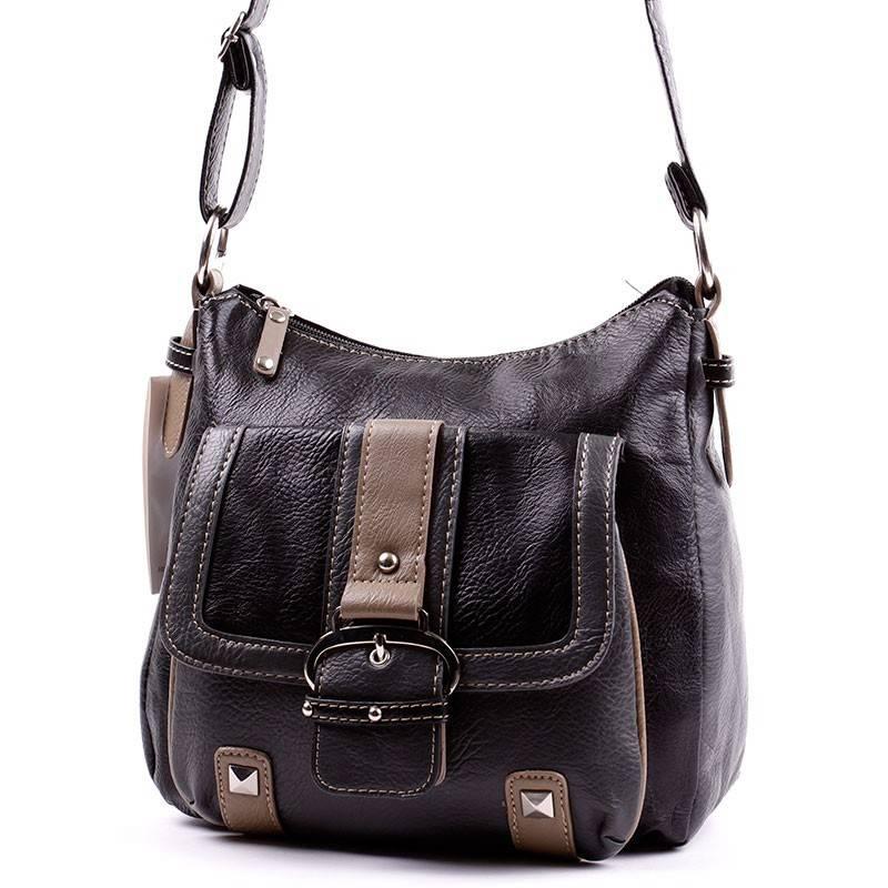 Laurence C fekete-szürke női táska  2482 83e4c43872