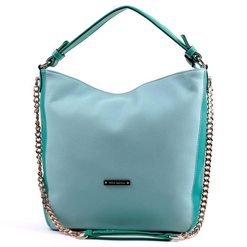 Velina Fabbiano zöld divatos női táska