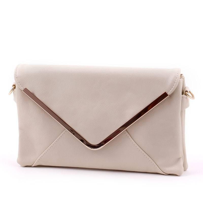 Bézs női boríték táska  2887 f3dfd4be35