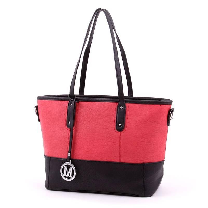 Lida fekete-piros női táska  2831 e10a6d9079
