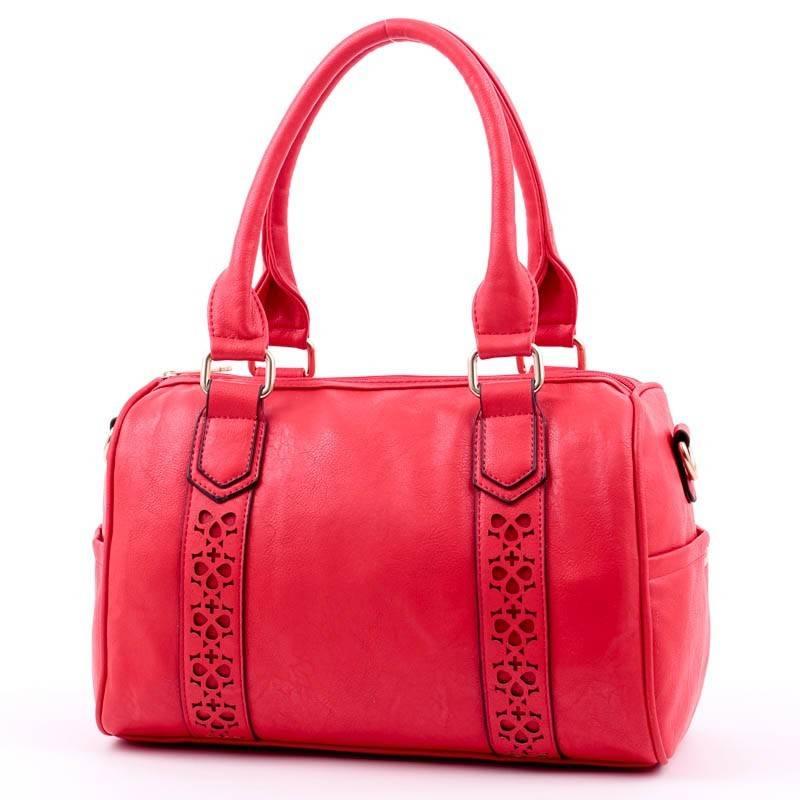 Piros bowling típusú női táska  2582 2f7dcfbe1c