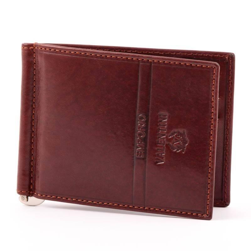 Emporio Valentini barna bőr dollár pénztárca