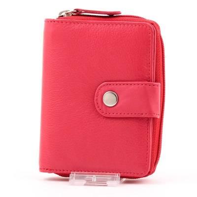 byLupo piros női bőr pénztárca