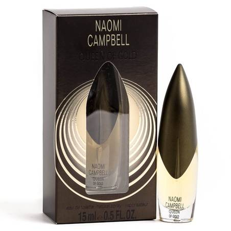 Naomi Campbell Queen of gold Woman EDT 15 ml