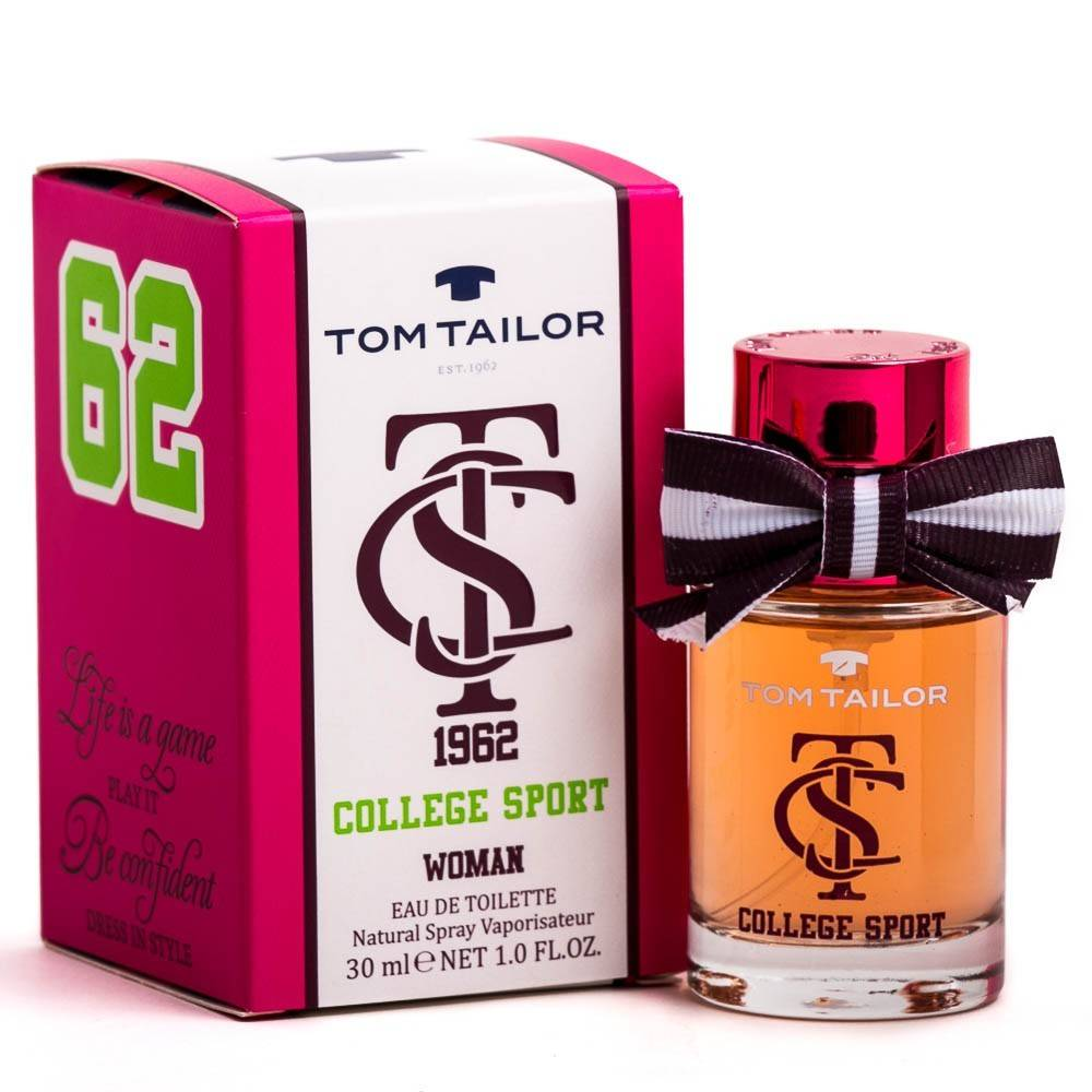 Tom Tailor College Sport Woman EDT 30 ml