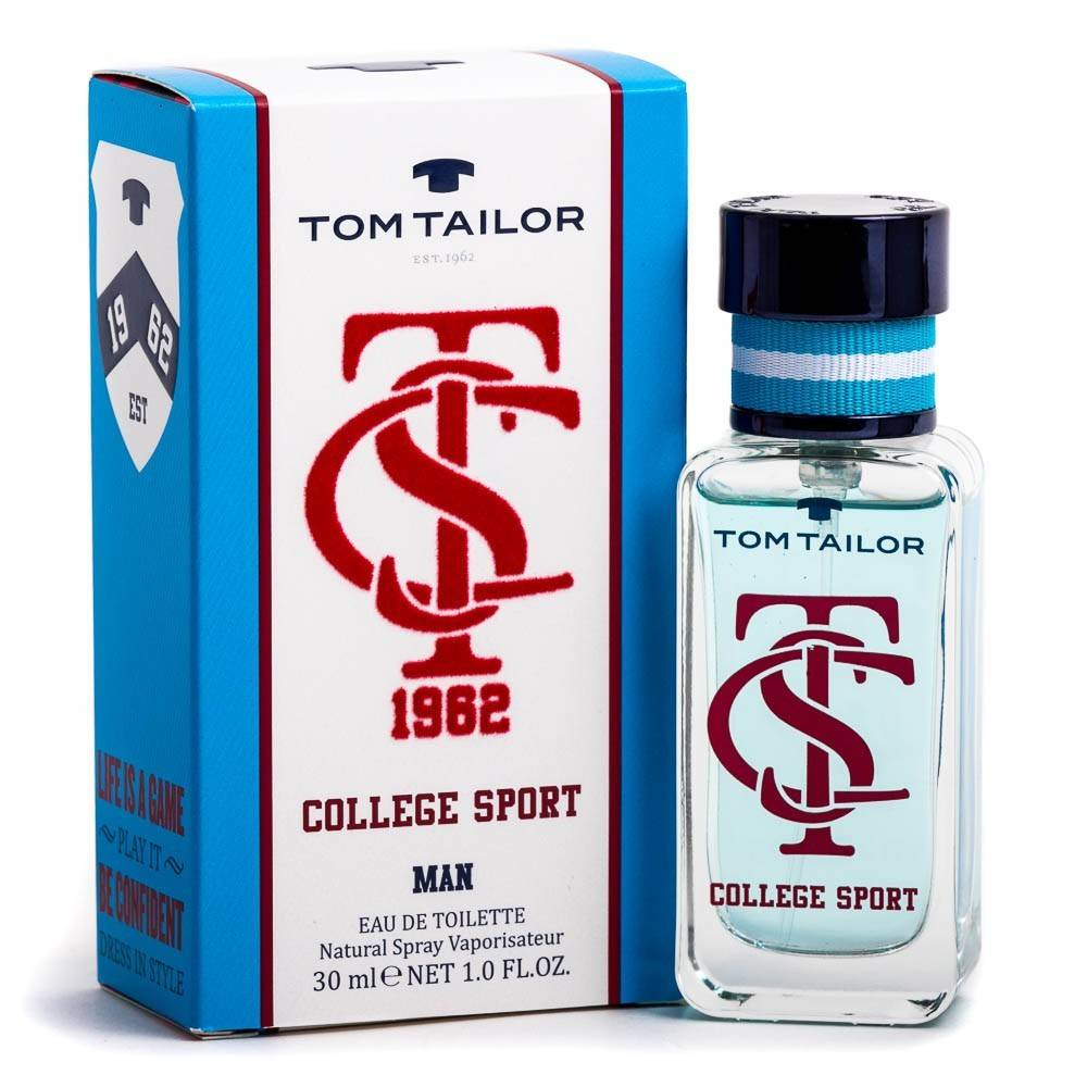 Tom Tailor College Sport Man EDT 30 ml