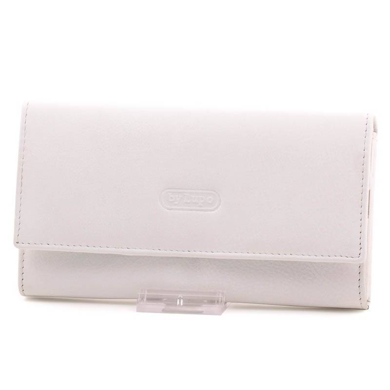 a860a7d9ed byLupo fehér női bőr pénztárca #1749