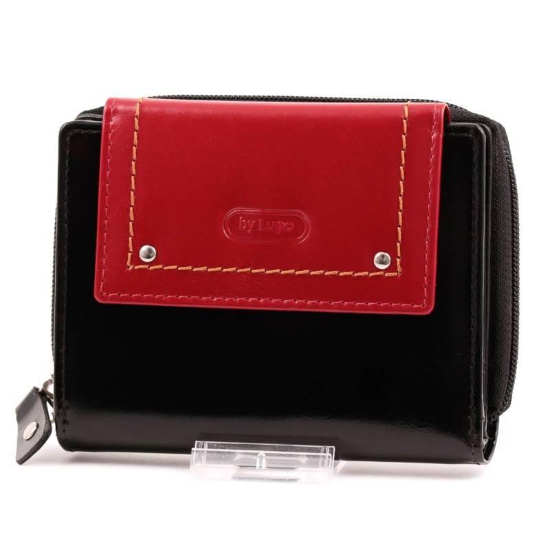 byLupo fekete-piros női bőr pénztárca dísz dobozban  2574 e64ad66ade