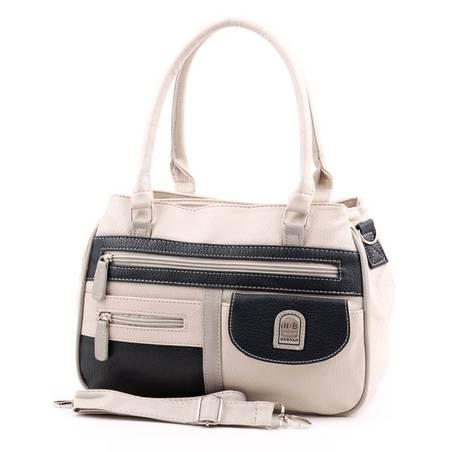 Hernan Bag's Collection bézs-kék női táska