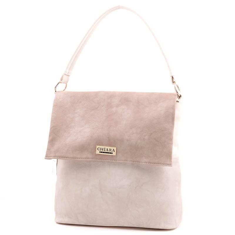 163c093c24fb Chiara bézs rostbőr női táska #3501