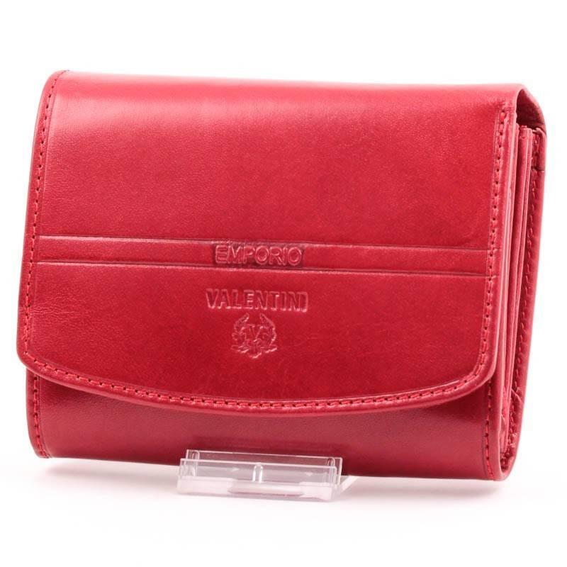 Emporio Valentini piros bőr női pénztárca  371 dafa429e37