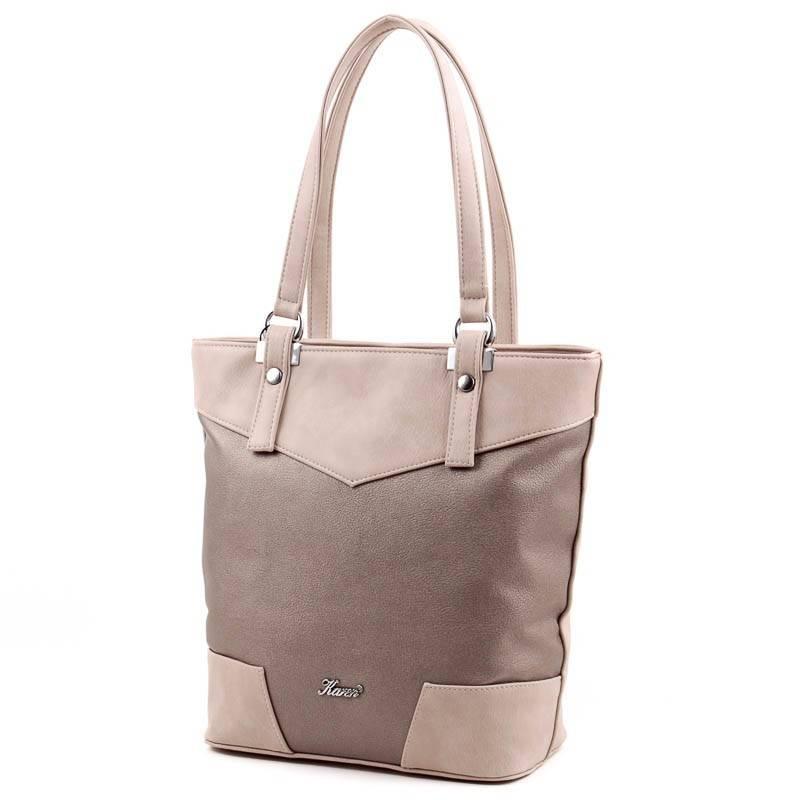 Karen kávébarna-bronz rostbőr női táska  3686 f68753aae4