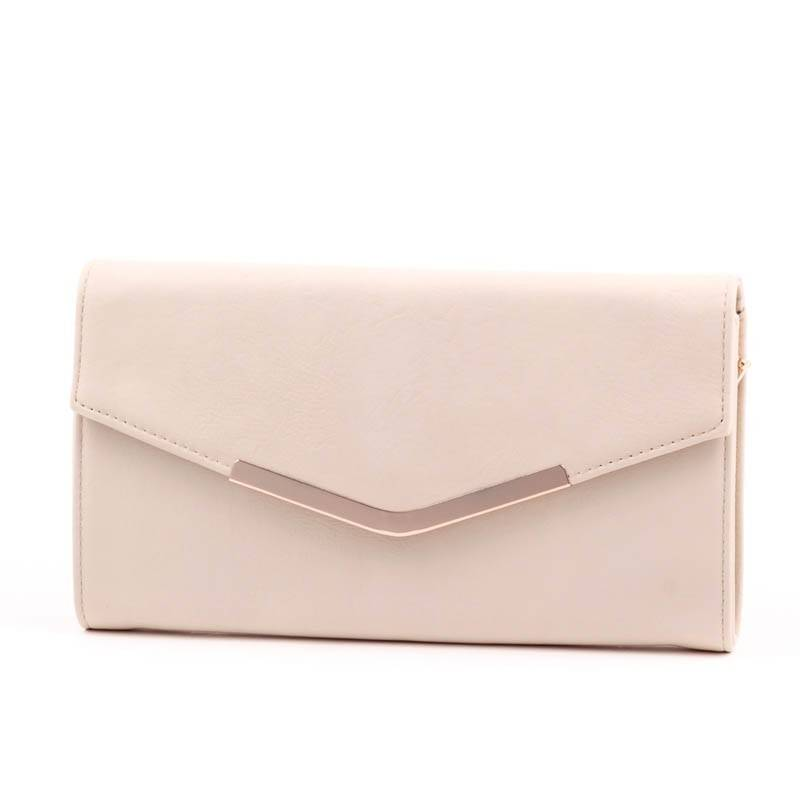 Valentina bézs női boríték táska  2839 d758047fe5