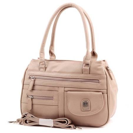Hernan Bag's Collection világos barna női táska