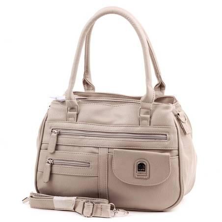 Hernan Bag's Collection világos szürke női táska
