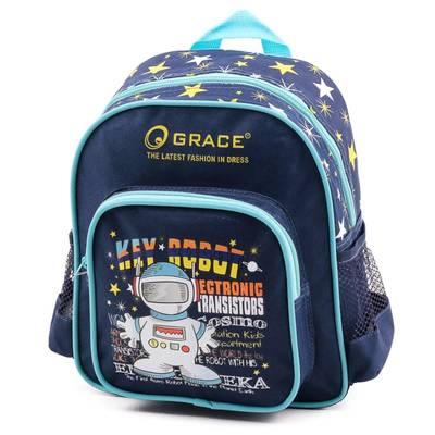 Grace kék mintás óvodás...