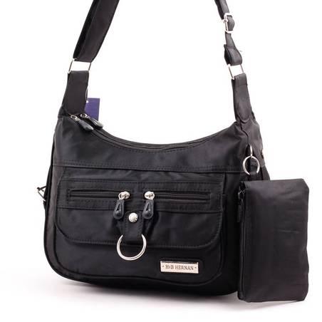 Hernan Bag's Collection fekete női válltáska