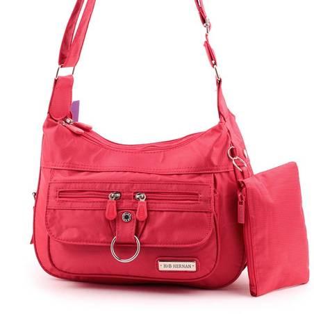 Hernan Bag's Collection piros női válltáska