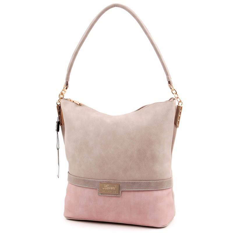 Karen drapp-púder női rostbőr táska  3855 e6fee99642
