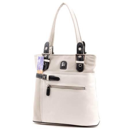 Hernan Bag's Collection szürke-fehér női táska