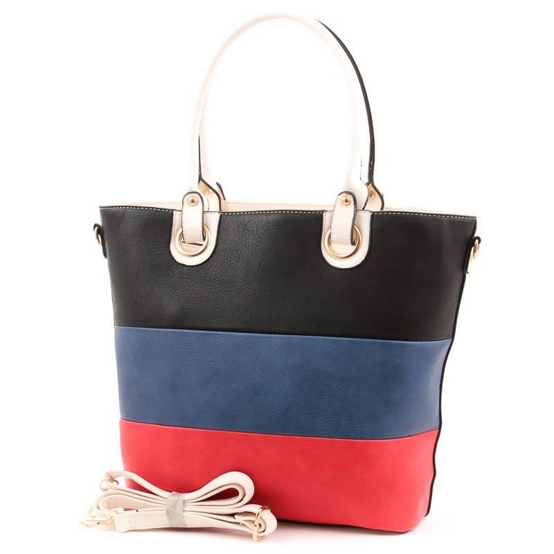 HSN Bag csíkos női táska  3813 64e0edbefd