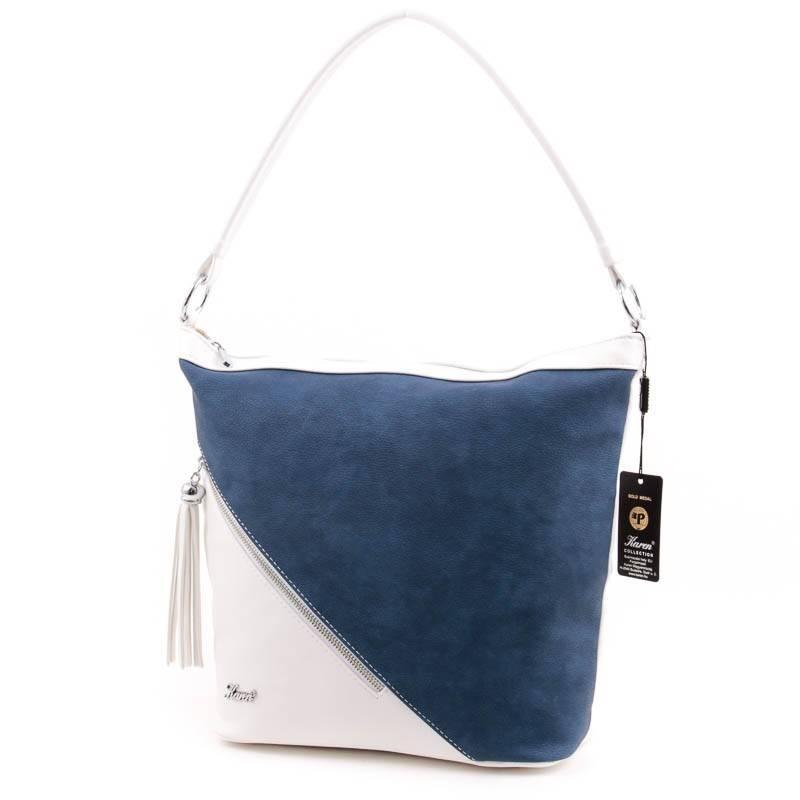 Karen fehér-kék rostbőr női táska  3889 7bb496349c