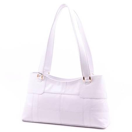 Karen fehér női rostbőr táska