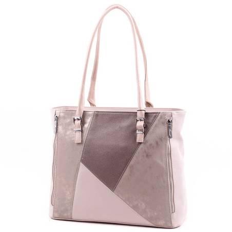 Karen bézs-arany-bronz női rostbőr táska