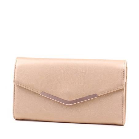 Valentina arany női boríték táska
