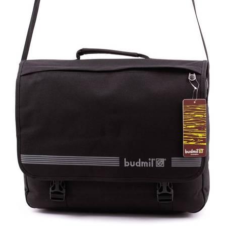 Budmil fekete laptoptartós válltáska