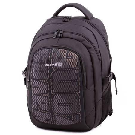 Budmil fekete hátizsák