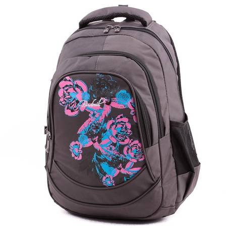 Budmil szürke hátizsák