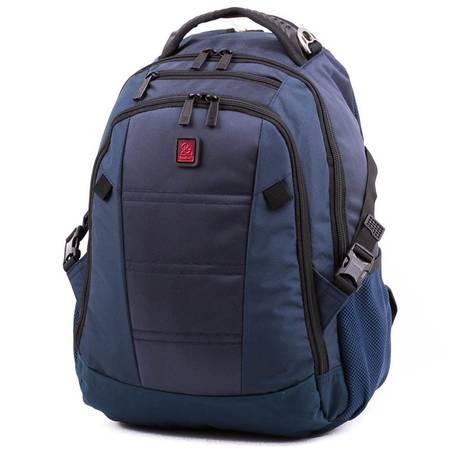 Budmil kék laptoptartós hátizsák