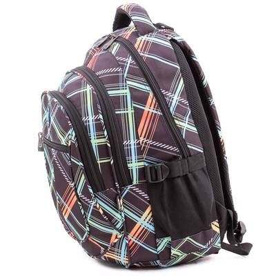 Budmil fekete mintás hátizsák
