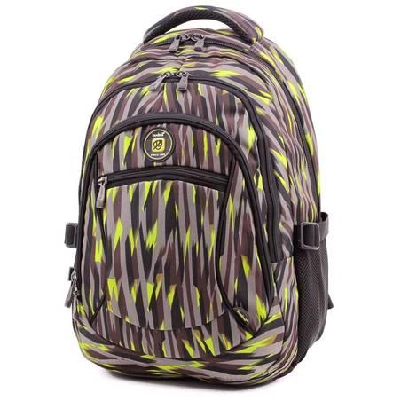 Budmil szürke-mintás laptoptartós hátizsák