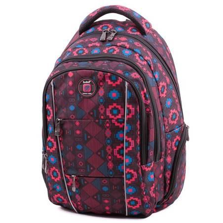 Budmil mintás laptoptartós hátizsák