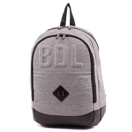 Budmil szürke laptoptartós hátizsák