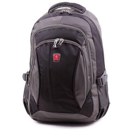 Aoking szürke-fekete laptoptartós hátizsák