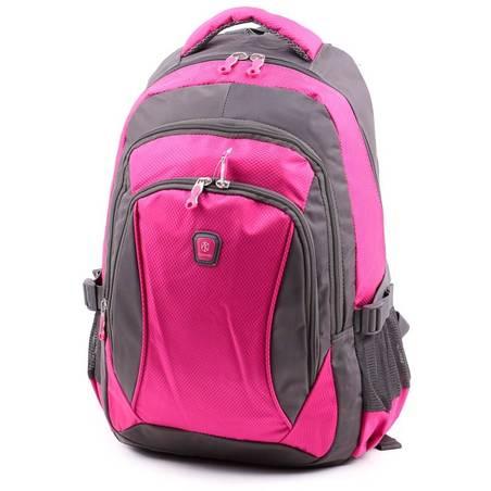 Aoking szürke-pink laptoptartós hátizsák