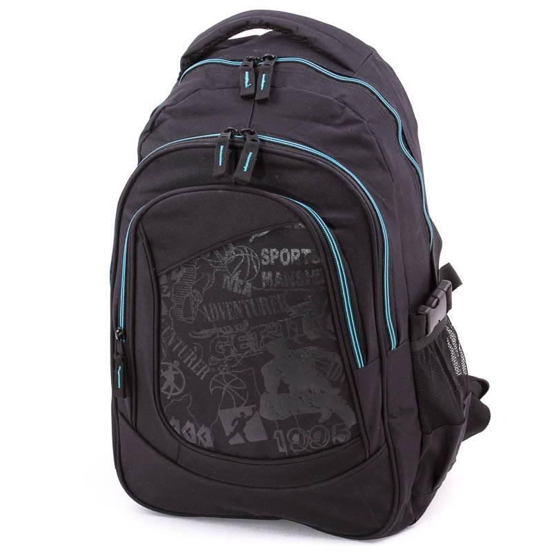 Adventurer fekete-kék hátizsák