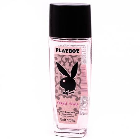 Playboy Play it Sexy női pumpás dezodor 75 ml